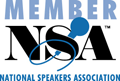 Member, National Speakers Association